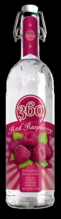 360 Red Raspberry 750ml