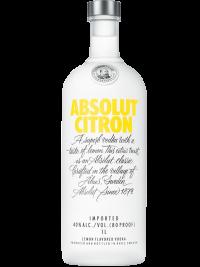 Absolut Vodka Sweden Citron 1L Bottle