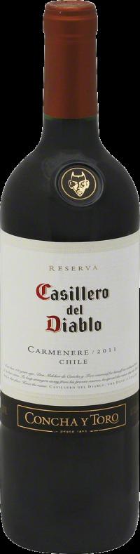 CASILLERO DEL DIABLO CARMENERE 750ML Wine RED WINE