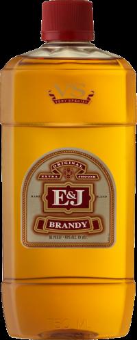 E&J VS Brandy Pet 750ml