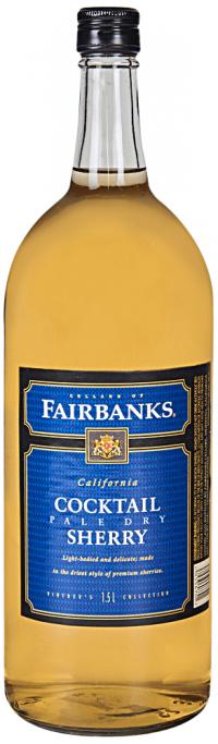 Fairbanks Pale Dry Sherry 1.5L