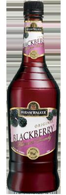 HIRAM WALKER Blackberrry Brandy 70 Proof 750ml