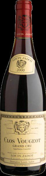JADOT GR CRU VOUGEOT 750ML Wine RED WINE