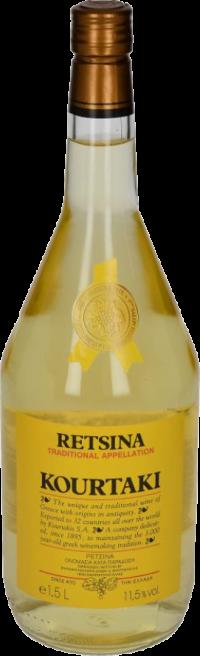 KOURTAKI RETSINA 1.5_1.5L_Wine_WHITE WINE