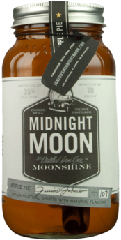 MIDNIGHT MOON APPLE PIE MOONSHINE 750ML Spirits MOONSHINE WHITE WHISKEY
