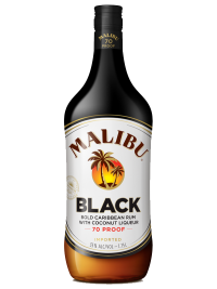Malibu Rum Caribbean Black 750ml Bottle