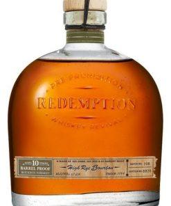 Redemption High Rye Bourbon 10 yr