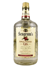 Seagram's Gin USA Twisted Apple 1.75L Bottle
