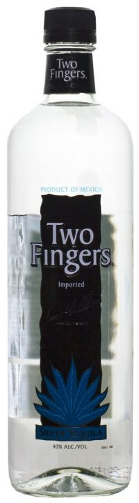 Two Fingers Silver Tequilla