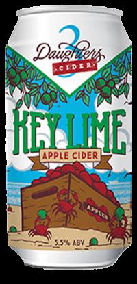 3 Daughters Keylime Apple Cider 12oz 6pk Cn
