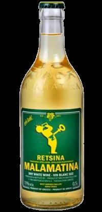 Malamatina Retsina Wine