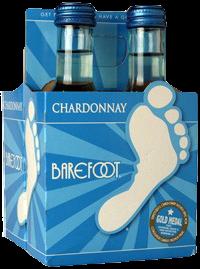 BAREFOOT CHARD 187ML 4PK BT Wine WHITE WINE