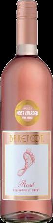 BAREFOOT ROSE 750ML Wine ROSE BLUSH WINE