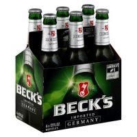 Becks 12oz 6pk bt