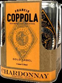 COPPOLA CHARDONNAY DIAMOND CAN 6 - 4