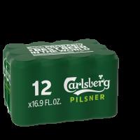 Carlsberg 16.9oz 12pk Cn