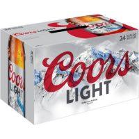 Coors Light 12oz 24pk bt