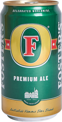 FOSTERS PREMIUM 25OZ CN-25OZ-Beer