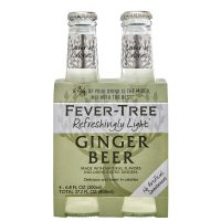 Fever Tree Light Ginger Beer 4pk