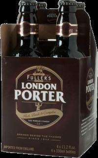 FULLERS LONDON PORTER 375ML 4PK NR Beer