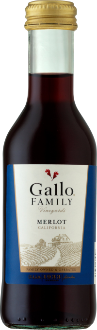 Gallo Family Merlot 187ml 4pk
