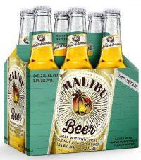Malibu Coconut Beer 12oz 6pk bt