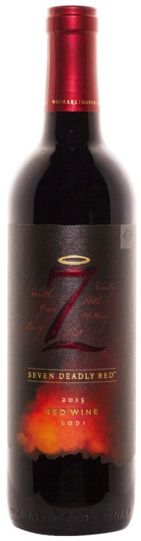 Michael David Winery 7 Deadly red Blend 2015