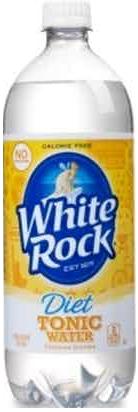 WHITE ROCK DIET TONIC 1.0L Non-Alcoholic SOFT DRINKS