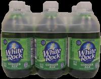 WHITE ROCK GINGERALE 375ML 10OZ 6PK Non-Alcoholic SOFT DRINKS