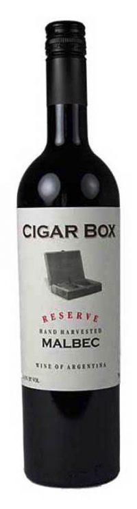 Cigar Box Malbec 750ml