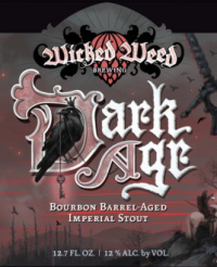 Wicked Weed BA Dark Age Imperial Stout 12.7oz btl sng