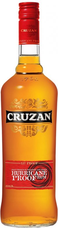 Cruzan Hurricane Rum 137 Proof 750ml