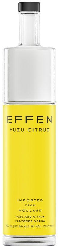 Effen Yuzu Citrus Vodka 750ml
