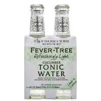 Fever Tree Light Cucumber Tonic 4pk