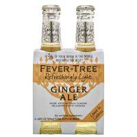 Fever Tree Light Ginger Ale 4pk