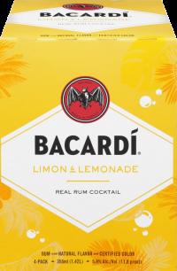 Bacardi Limon & Lemonade