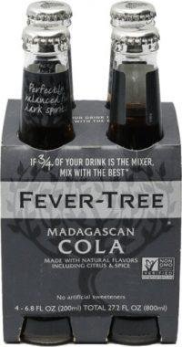 Fever Tree Madagascan Cola 200ml 4pk Btls