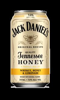 Jack Daniels Whiskey Honey & Lemonade