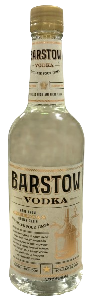 Barstow Vodka