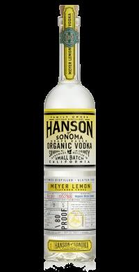 Hanson of Sonoma Organic Meyer Lemon Vodka