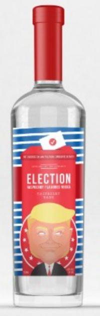 Election Trump Raspberry Vodka 750ml