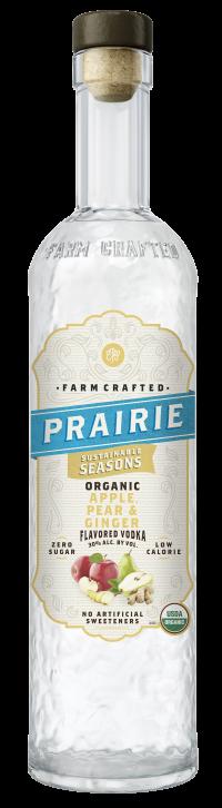 Prairie Organic Sustainable Seasons - Apple, Pear & Ginger - 750ml