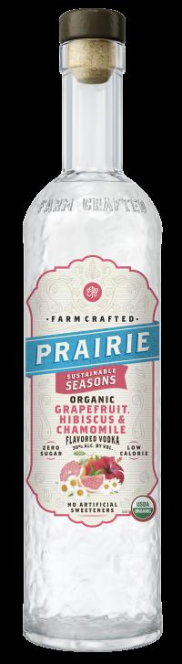 Prairie Organic Sustainable Seasons - Grapefruit, Hibiscus & Chamomile 750ml