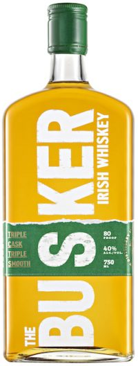 The Busker Triple Cask Irish Whiskey