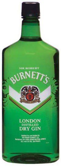 Burnetts London Gin 750ml