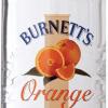 Burnetts Orange Vodka 750ml