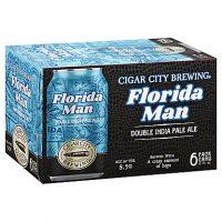 Cigar City Florida Man Double IPA 12oz 6pk Cn