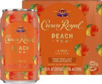 Crown Royal Peach Tea 4pk
