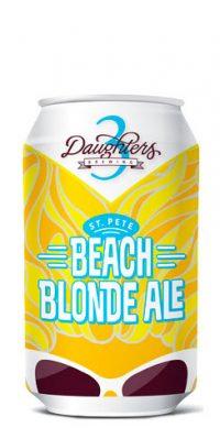 3 Daughters Beach Blonde Ale.