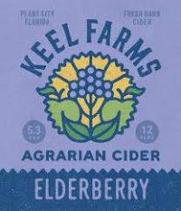 Keel Farms Elderberry Cider